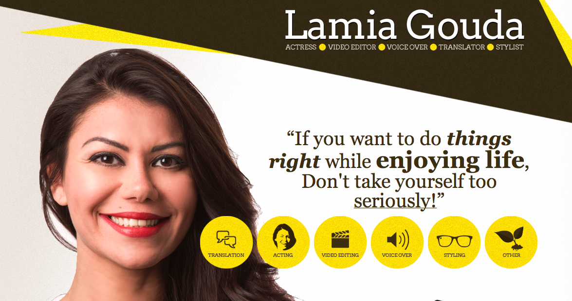 Hire Lamia Gouda now!!!