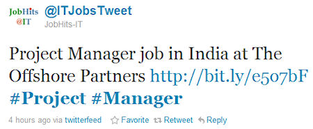 How to job search on Twitter
