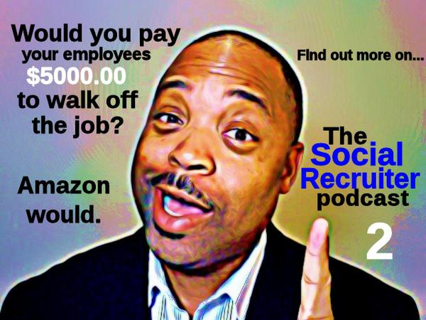 """Pay to quit"" programs are discussed on The Social Recruiter podcast."