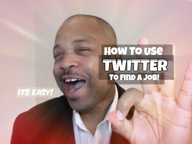 jim stroud demos how to find a job on Twitter.