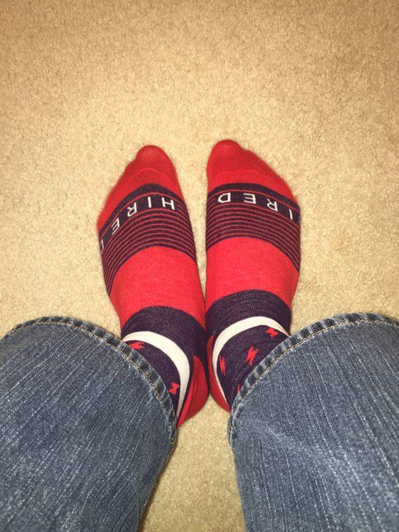 My lucky socks