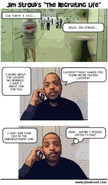 The Recruiting Life - Comic Strip