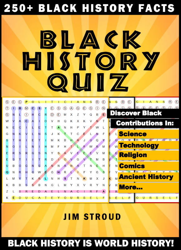 Black History Quiz Puzzle Book