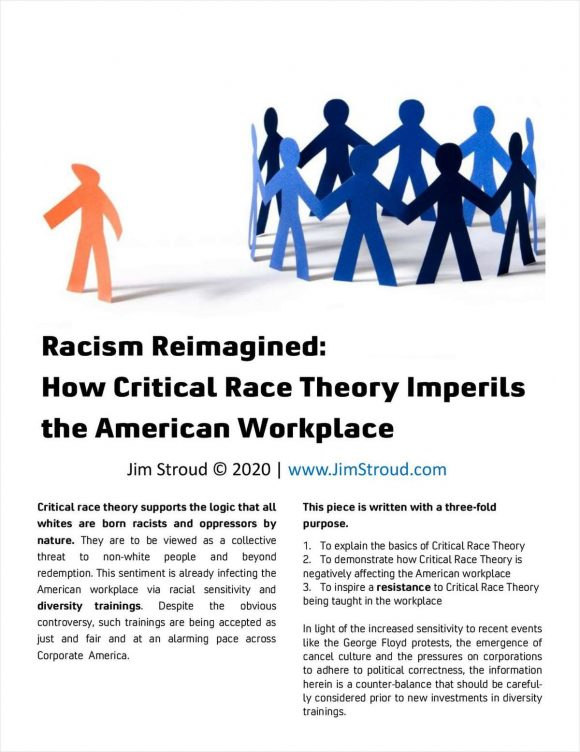 """Racism Reimagined: How Critical Race Theory Imperils the American Workplace"""